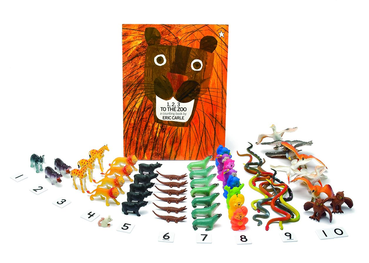 3 D Storybook 1 2 3 To The Zoo