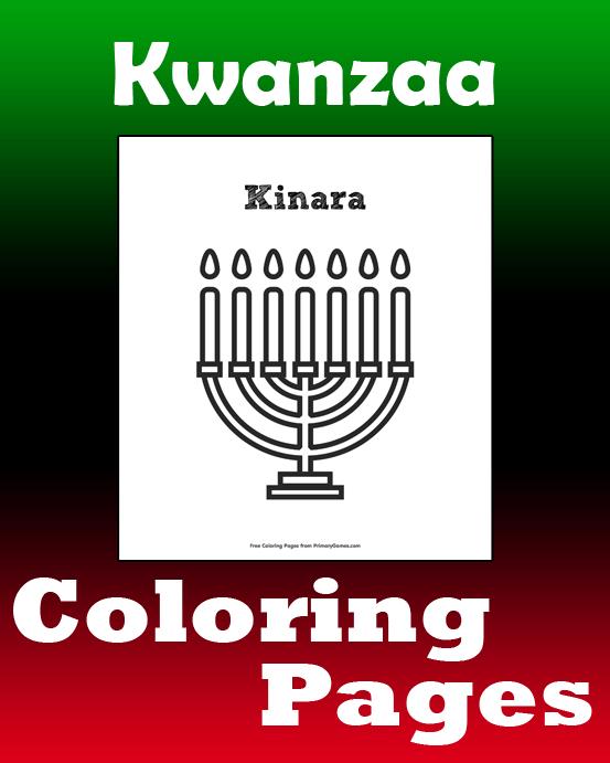 Kwanzaa Coloring Pages Printable Coloring EBook