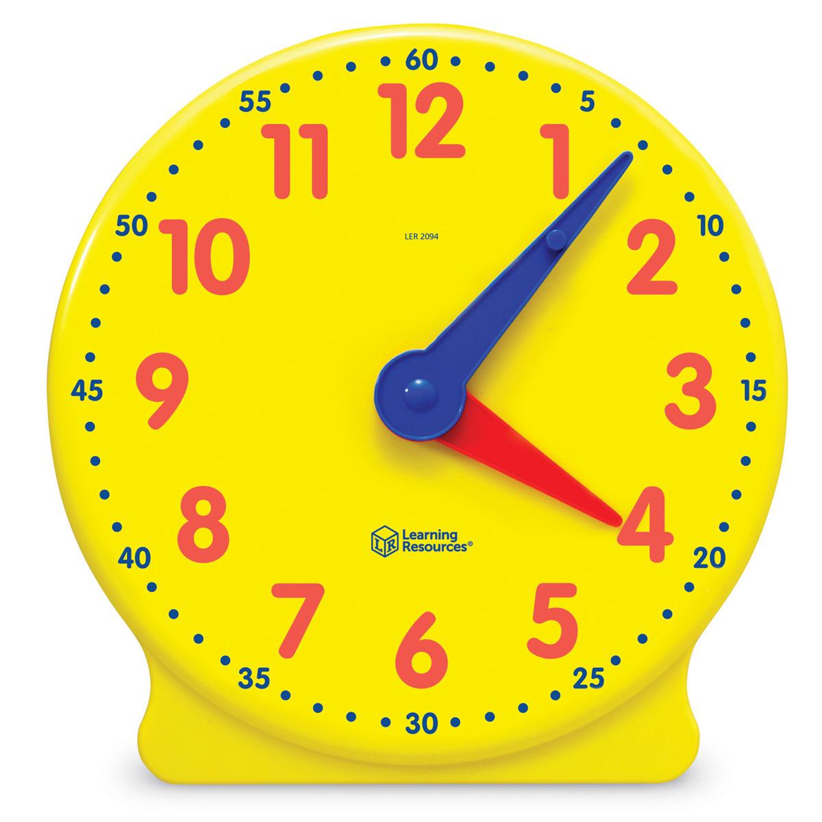 Buy Big Time Geared 12 Hour Teacher Demonstration Clock