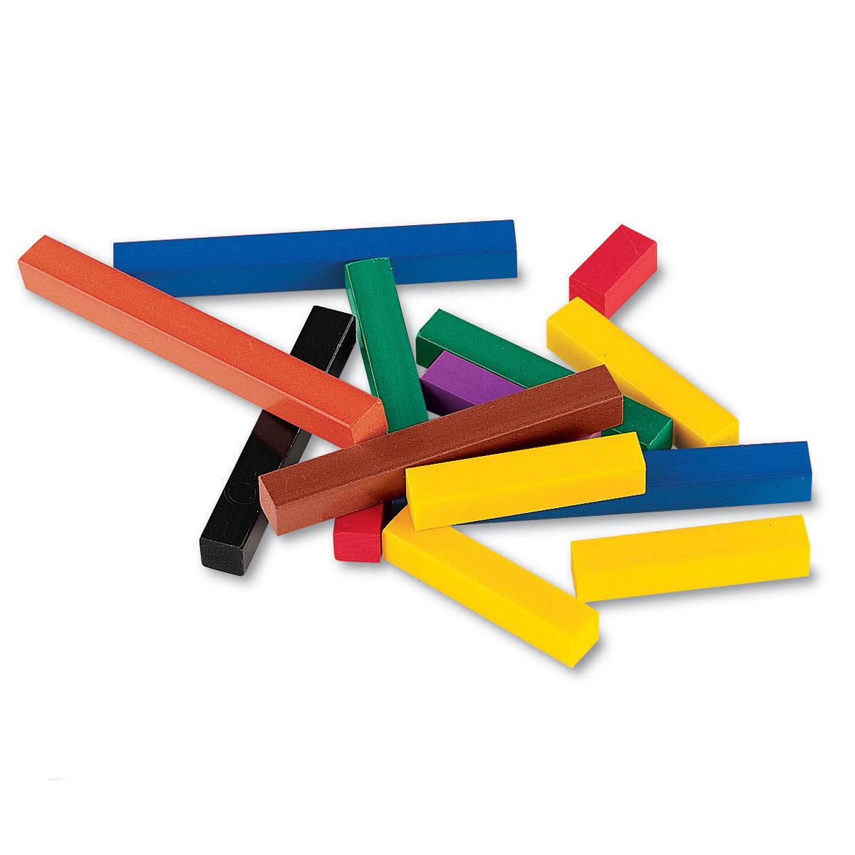 Plastic Cuisenaire Rods Class Multi Pack