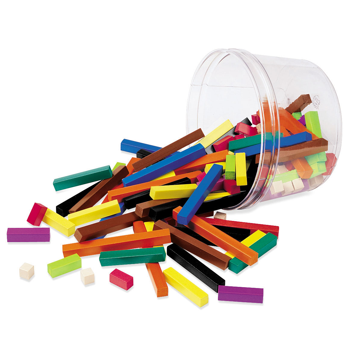 Cuisenaire Rods Plastic Rods Small Group Sets In A Tub