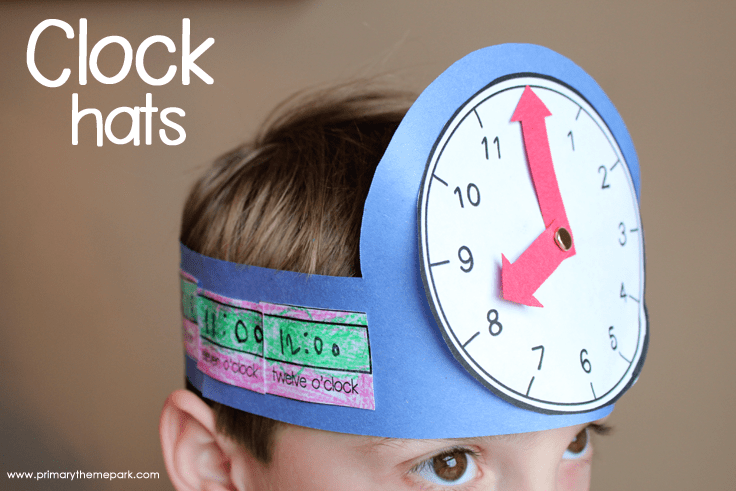 Time Activities for Kindergarten and First Grade