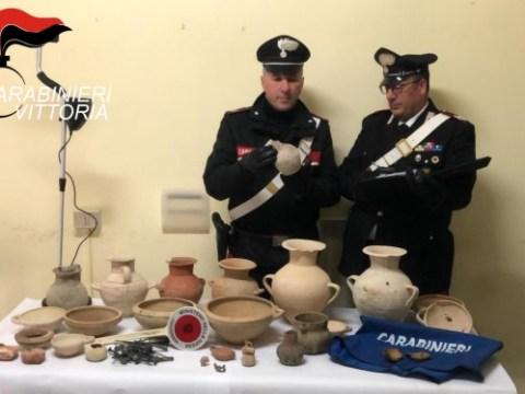 Cronaca Ragusa, scavi archeologici clandestini