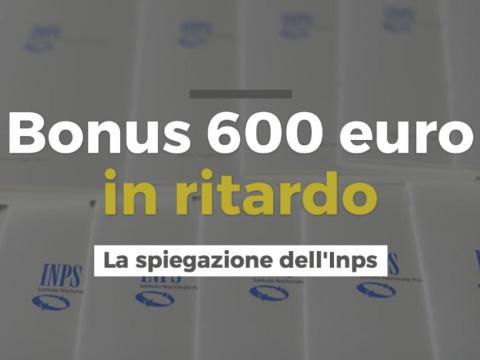 Ritardo Bonus 600 euro