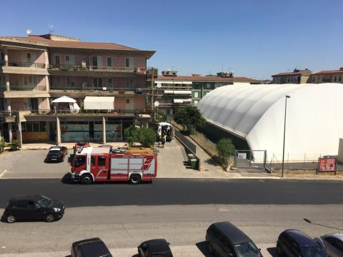 Caltagirone, soccorsi in via Pirandello