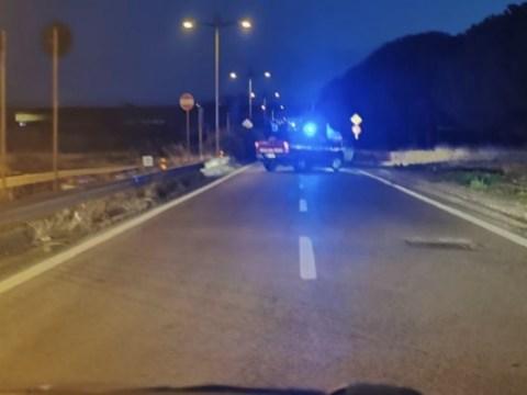 Brutto incidente a Ragusa, camion resta in bilico sul viadotto