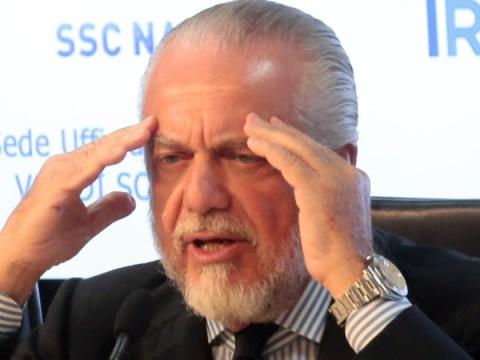 Presidente De Laurentiis positivo, ieri era ad una riunione della Lega e non ha indossato la mascherina mentre parlava con i giornalisti.