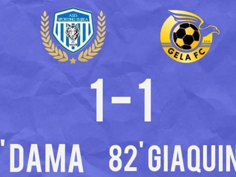 Promozione, Girone D, Sporting Eubea pareggia col Gela FC che raggiunge i padroni di casa solo al novantesimo minuto