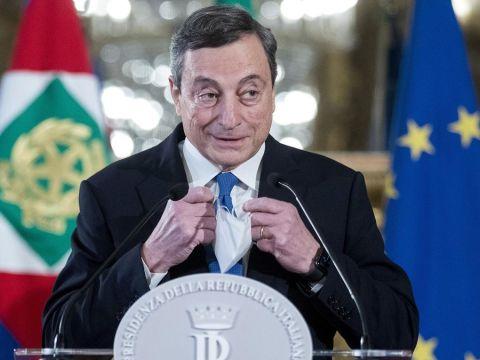 Premier Draghi Mario