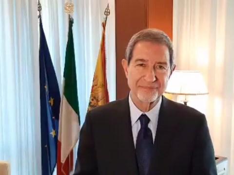 presidente regione Sicilia Nello Musumeci