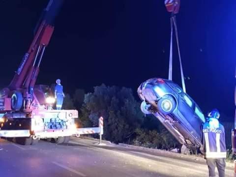 Pauroso incidente lungo la statale 640 tre auto coinvolte, cinque feriti trasportati al Pronto Soccorso. Da chiarire la dinamica.
