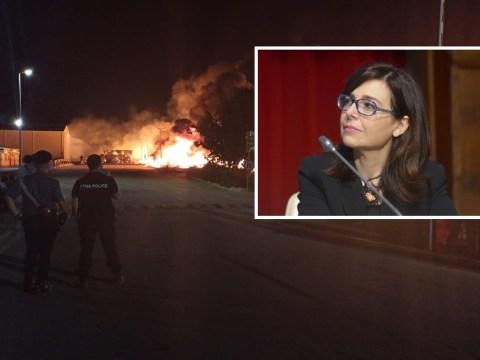 "Maxi incendio Kalat Impianti, assessore regionale Daniela Baglieri: ""Rogo doloso? Se così, troppe coincidenze"""