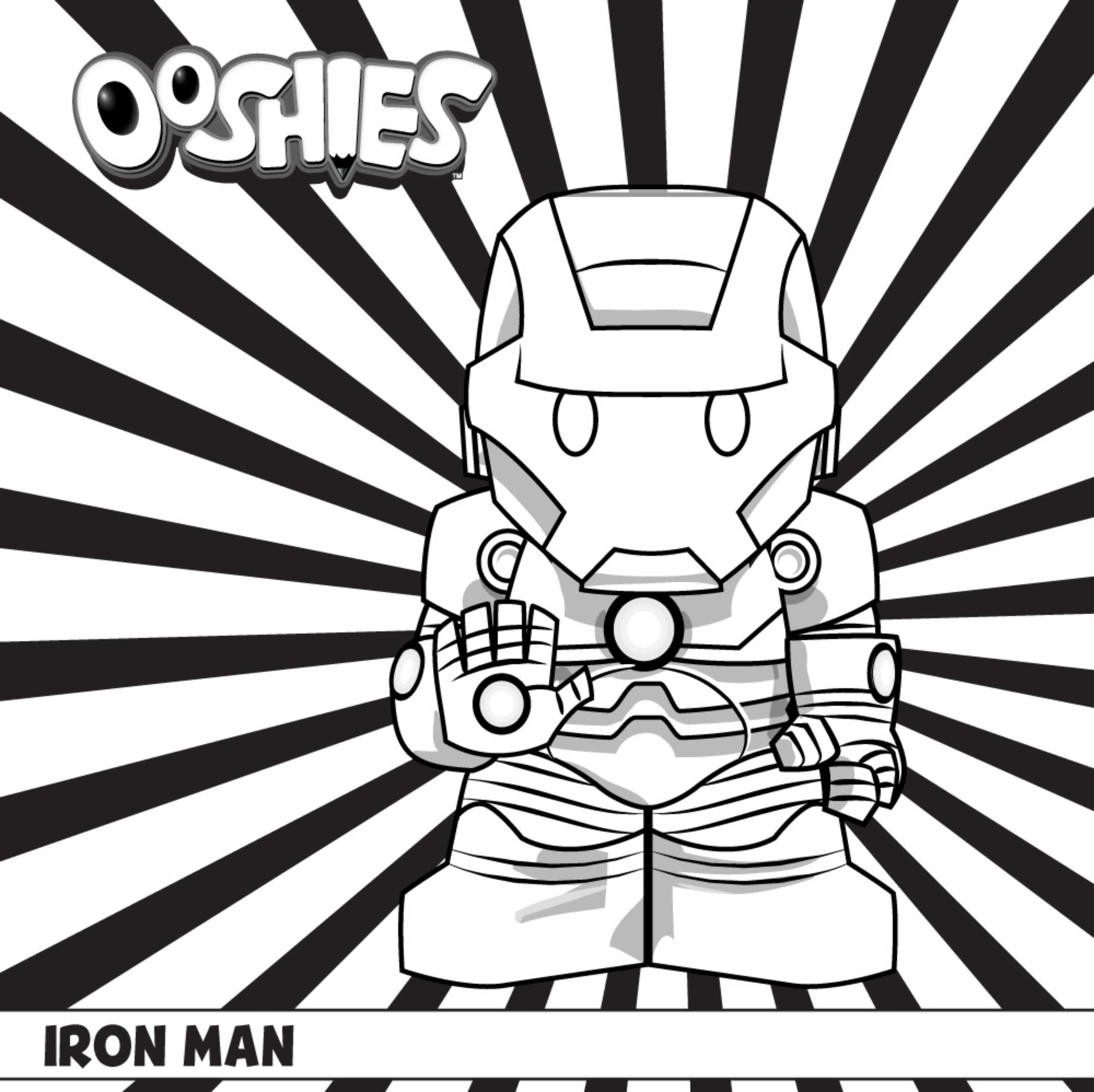 20 Iron Man Coloring Pages For Toddlers Printable