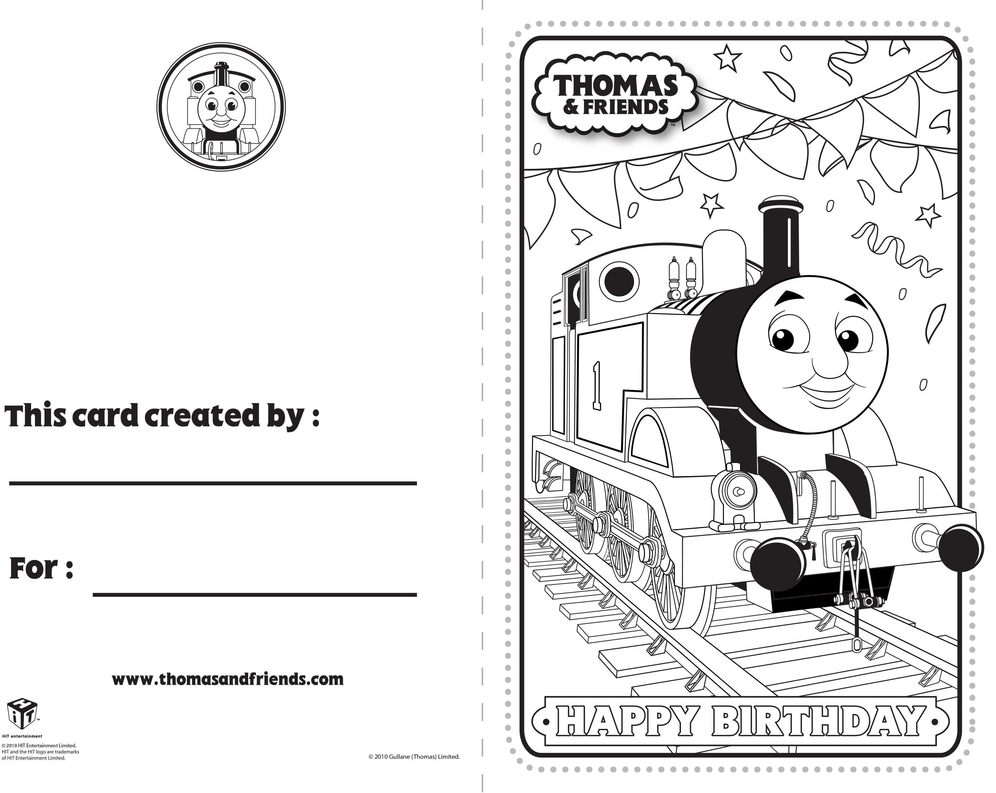 Download Fun Activities And Color Ins To Print Out And Play With Thomas