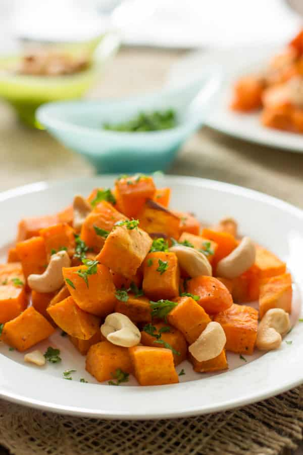Baked Sweet potato Primavera Kitchen Recipe