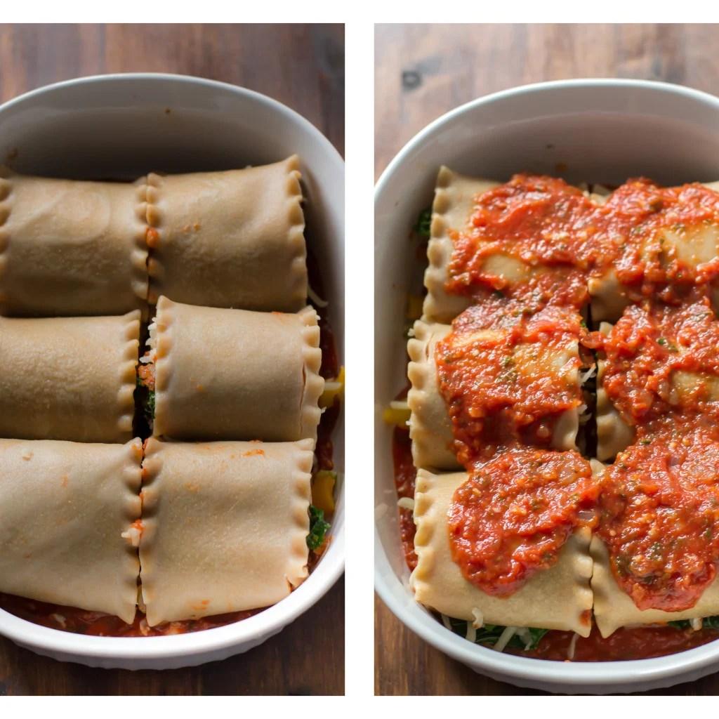 vegetable lasagna roll-ups Primavera Kitchen Recipe