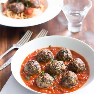 vegetables meatballs