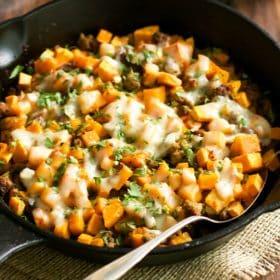 Ground Turkey Sweet Potato Skillet Primavera Kitchen Recipe