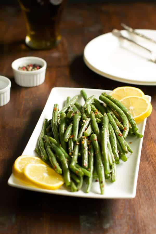How to make crispy baked green beans | primaverakitchen.com