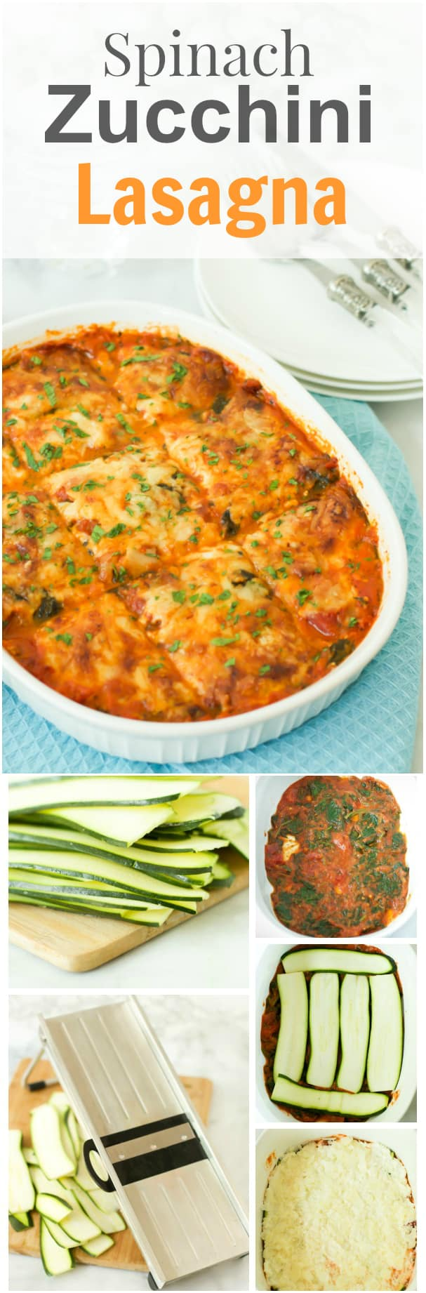 Spinach Zucchini Lasagna