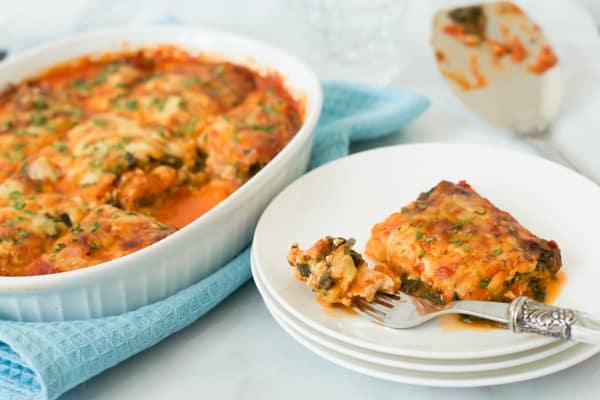 Spinach and Zucchini Lasagna Primavera Kitchen Recipe