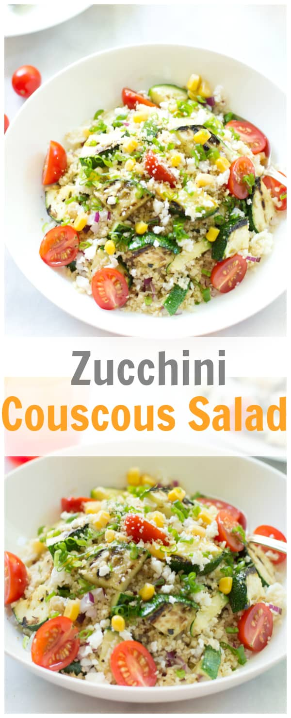 zucchini couscous salad