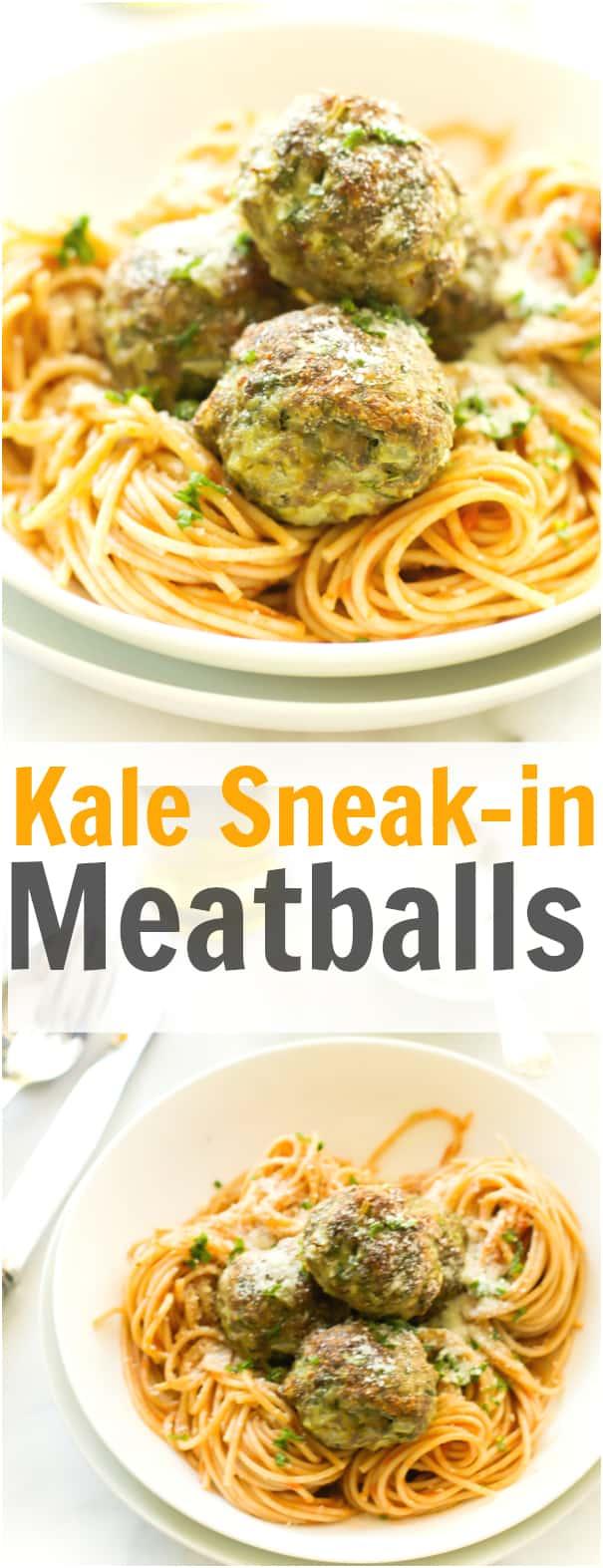 Kale Sneak-in Meatballs