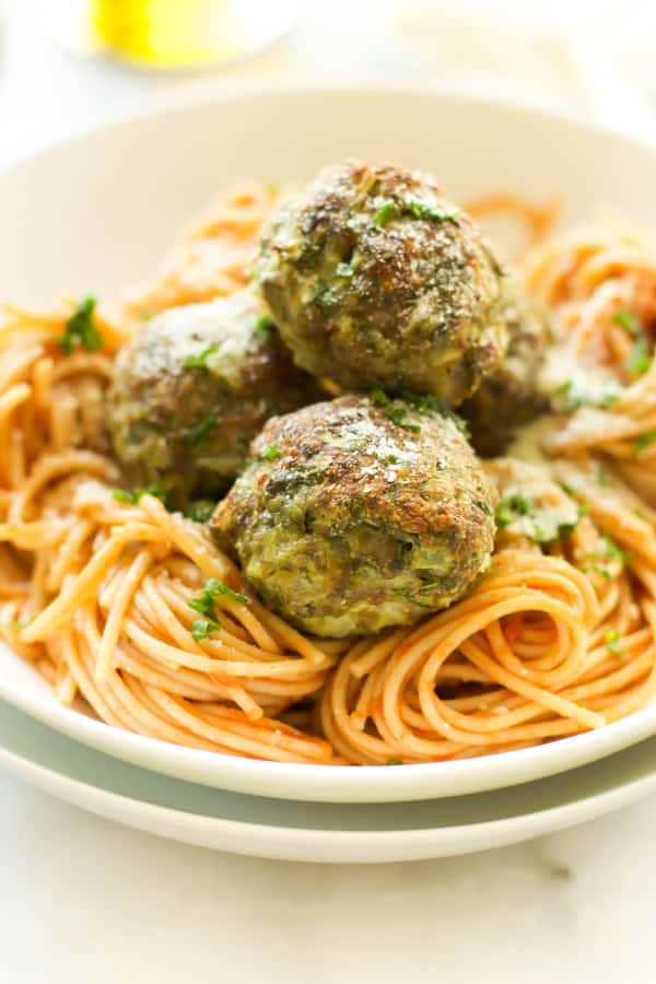 Kale Sneak in Turkey Meatballs Primavera Kitchen Recipe
