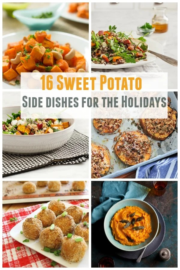 16 sweet potato side dishes for the holidays.