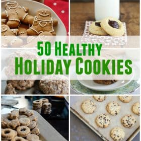 50 healthy holiday cookies