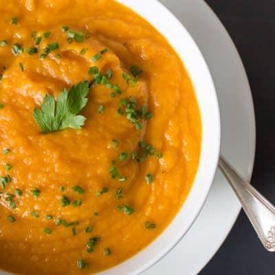 Carrot and Parnisp soup - primaverakitchen.com