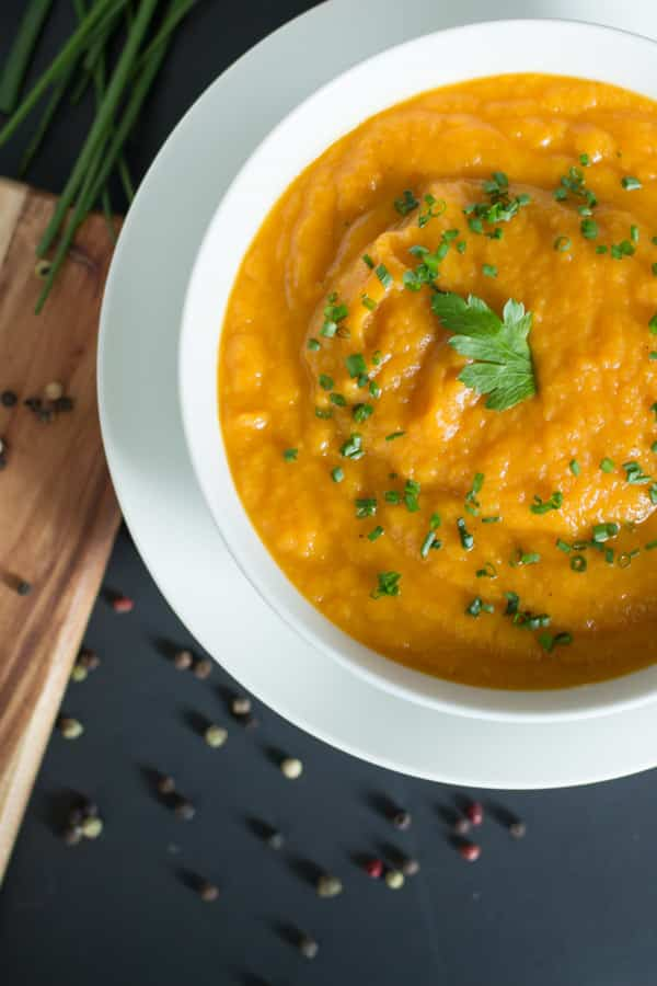 Carrot and Parsnip soup - Primavera Kitchen Recipe