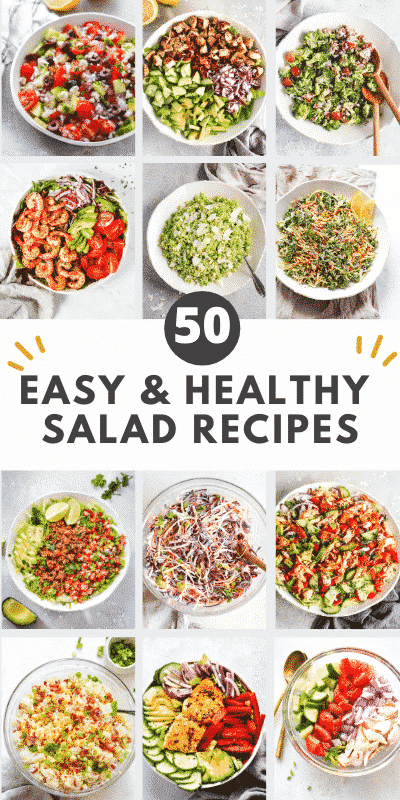 50 Easy and Healthy Salad Recipes