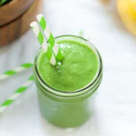 Pineapple Green Smoothie-3