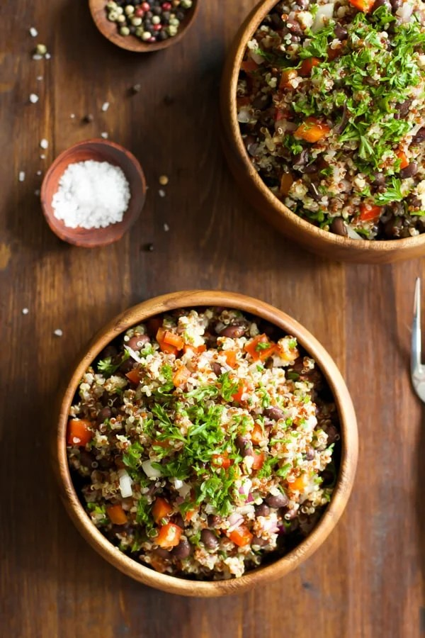 Quick and Easy Quinoa Salad primavera kitchen recipe