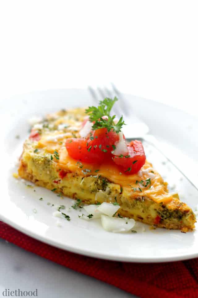 Slow cooker Veggie Omelette Primavera Kitchen Recipe
