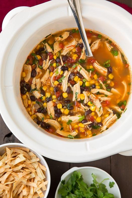 slow cooker chicken tortilla soup Primavera Kitchen Recipe