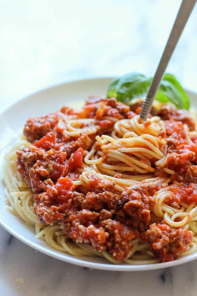 slow cooker spaghetti sauce Primavera Kitchen Recipe