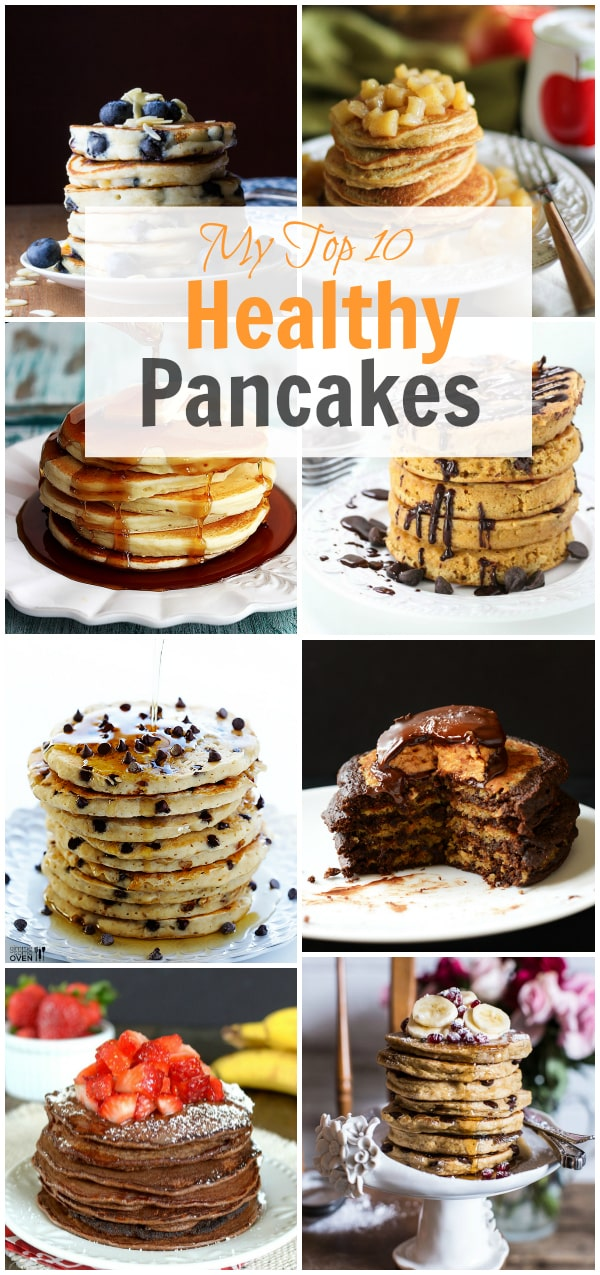 my top 10 healthy pancakes Primavera Kitchens List