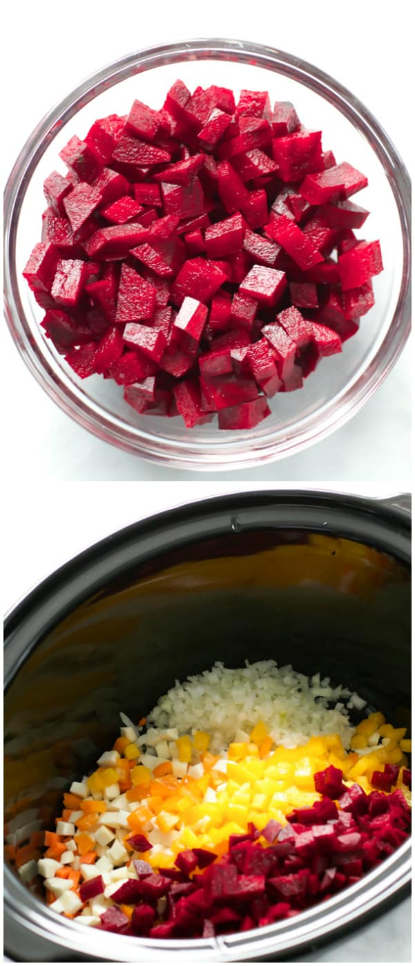 Slow Cooker Beet Chili Primavera Kitchen Recipe