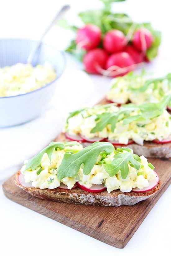 Egg Salad Healthy Summer recipe