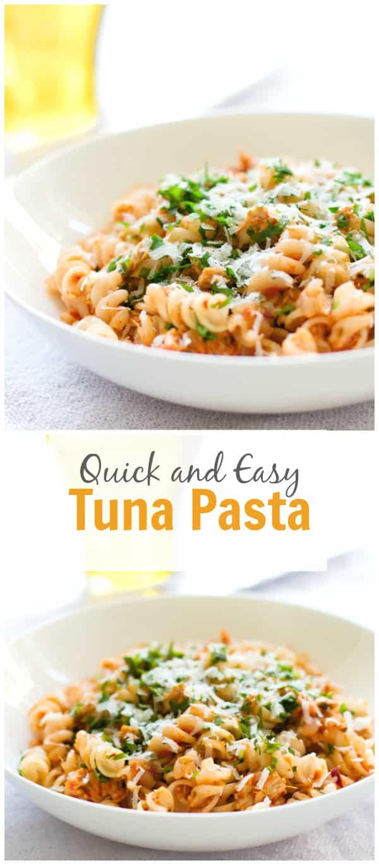 Quick and Easy Tuna Pasta7