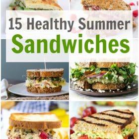 15 Healthy Summer Sandwiches