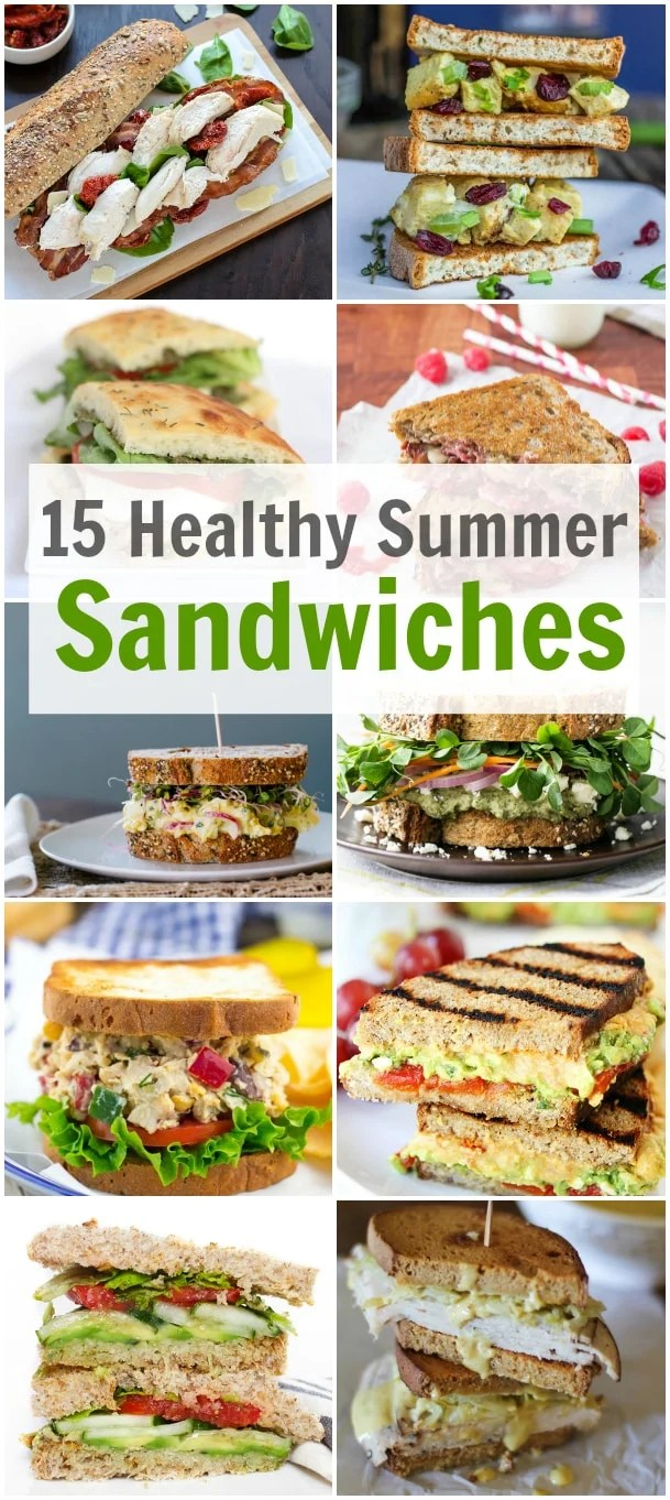 15 Healthy Summer Sandwiches Primavera Kitchen