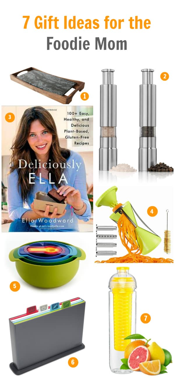 7 Gift Ideias for the Foodie Mom