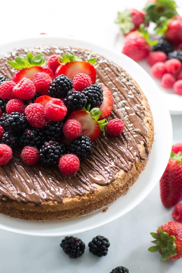 Almond Cake with Fresh Berries_-10