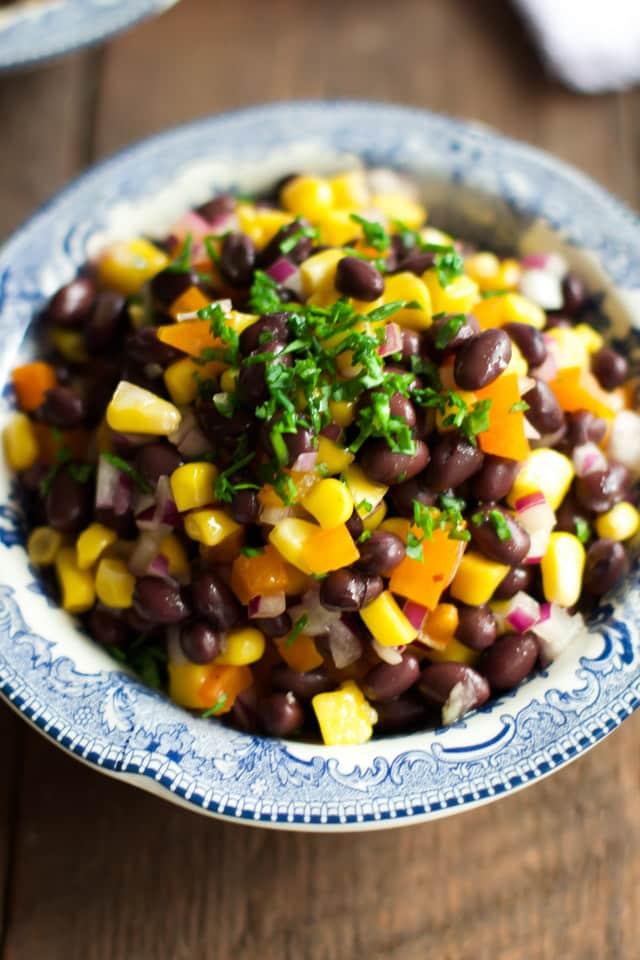 Black Bean Mango Salad-5