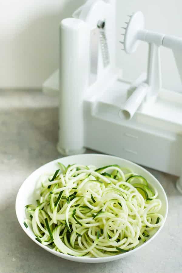 Garlic Shrimp with Zucchini Noodles primavera kitchen recipe