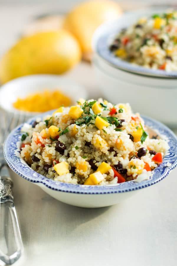 Mango Quinoa Salad-6