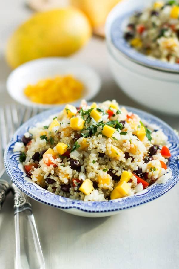 Mango Quinoa Salad-7
